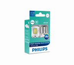 Philips Ultinon Led 11498ULWX2 P21W BA15s 12V 1.95W