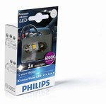 LED autožárovka Philips X-tremeVision Festoon C5W 10,5x43 6000K