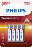 Philips PowerLife AAA 4ks LR03P4B/10