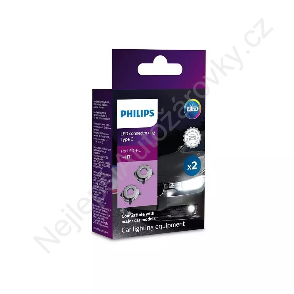 Philips Connector rings LED H7 11172CX2