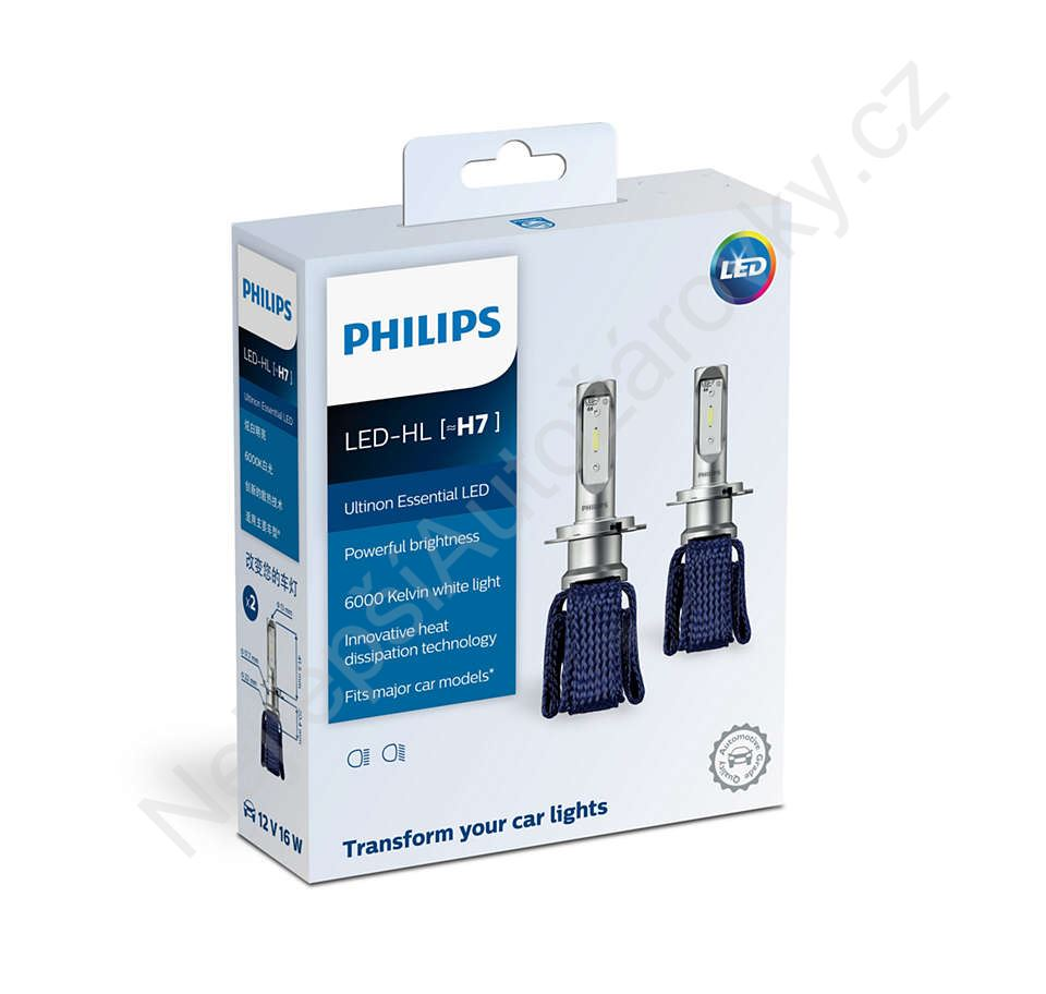 Philips Led H7 Ultinon Essential 11972UEX2 12-24V