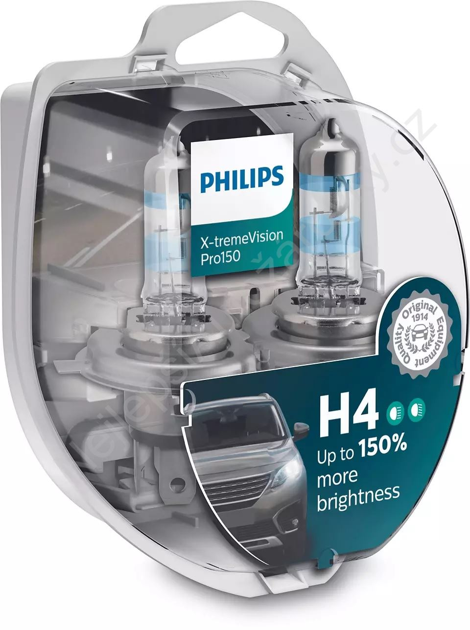 Philips X-tremeVision  Pro150 12342XVPS2 H4 P43t-38 12V 60/55W