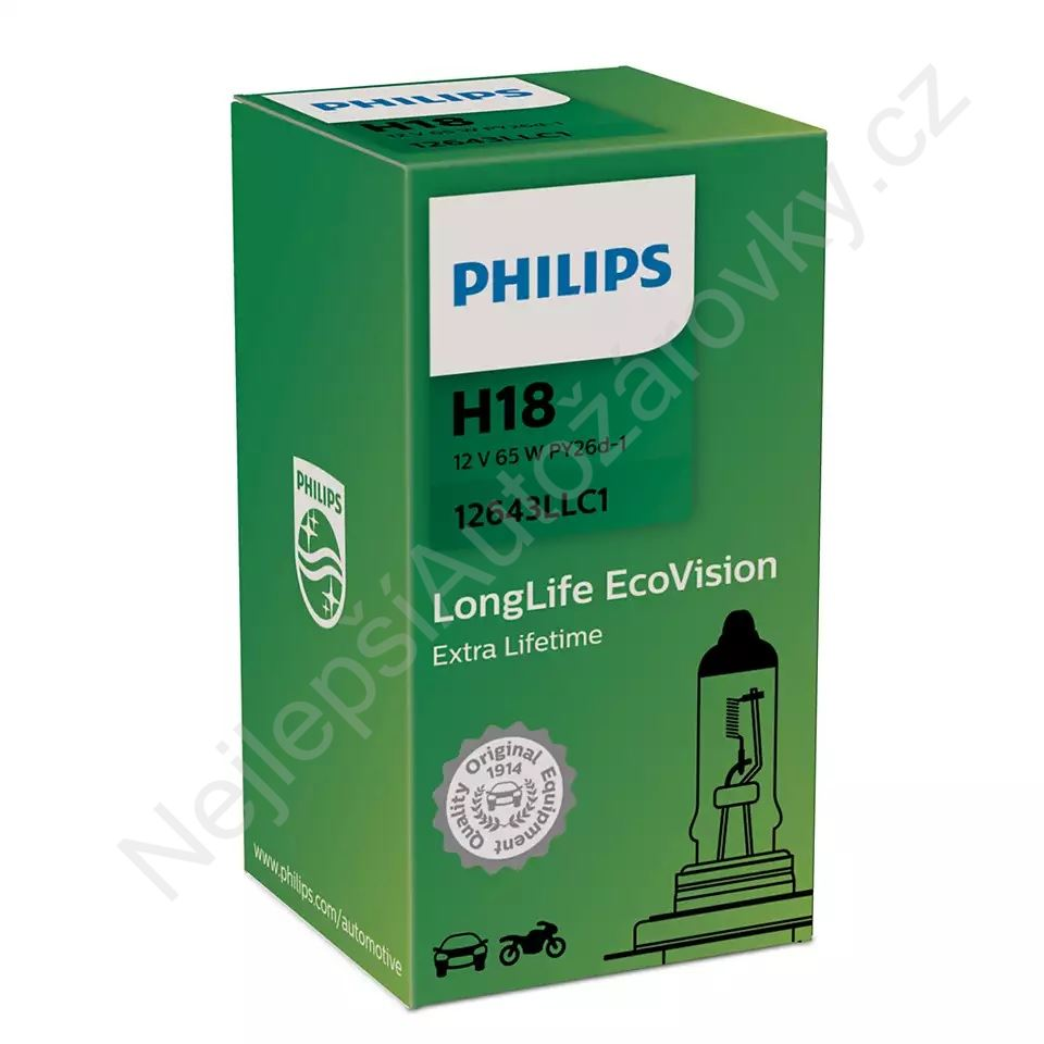 Philips H18 65W 12V PY26D-1