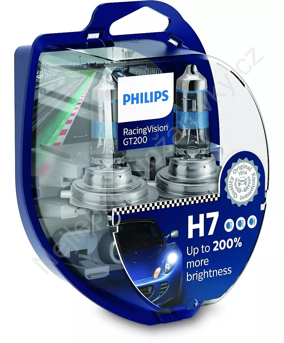 Philips RacingVision GT200 12972RGTS2 H7 PX26d 12V 55W