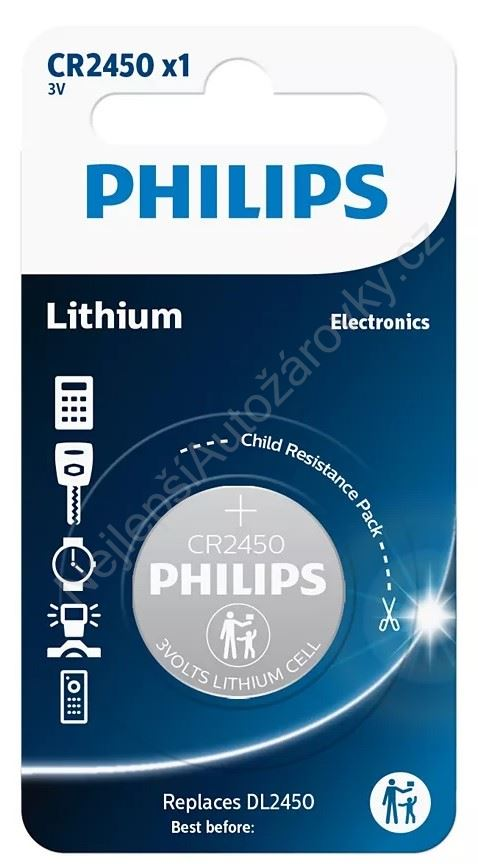 Philips baterie CR2450 - 1ks - CR2045001B