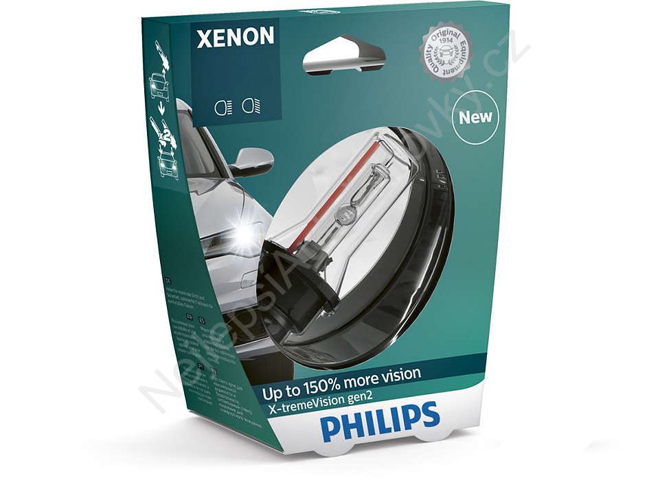 Xenony Philips X-tremeVision D2R