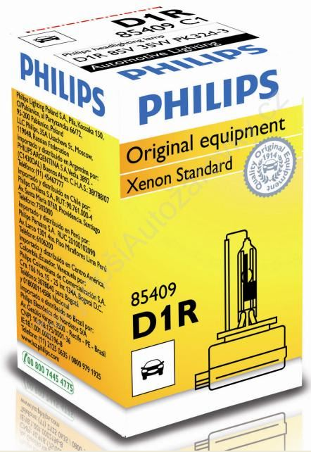 Xenony Philips Vision D1R
